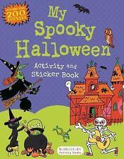My Spooky Halloween Activity and Sticker Book Sticker Activity Books