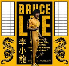 "15""x15"" Diorama For 12"" Or 1/6 Bruce Lee Action Figure ideal for IKEA Detolf"