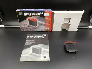 N64 Nintendo 64 Expansion Pak Pack CIB Complete Boxed