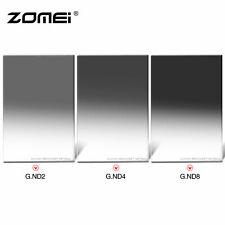 ZOMEI 100*150 Gradual Neutral Density Filter GND2+4+8 for Cokin Z UK Seller