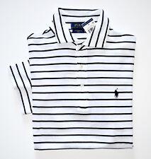 NWT Men's Ralph Lauren Short-Sleeve Polo Shirt White, Black, XXL, 2XL