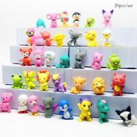 20pcs New Littlest Pet Shop Cat Dog Animal Figures Collection Kids Toy.Pro w/