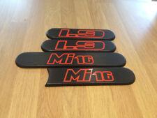 PEUGEOT 205 MI16 1.9 2.0 GTI trimestre badge Stickers Autocollant Rouge Vinyle badges gti-6