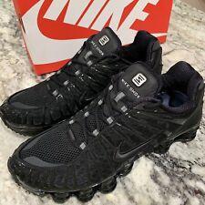 Nike Shox TL Triple Black BV1127-001 Men Size US 13 NEW 100% Authentic BLK FURY