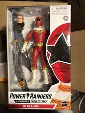 Power Rangers - Lightning Collection - 6 Inch - Zoe Red Ranger - Mint