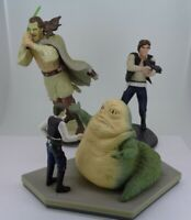 3X Starwars  Figures collectable Static models