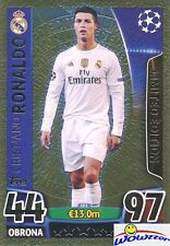 (10)2016 Topps Match Attax Champions League EXCLUSIVE Cristiano Ronaldo LE GOLD!