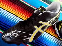 ✺Signed✺ ANDREW WALKER Football Boot PROOF COA Carlton Blues 2020 Jumper AFL