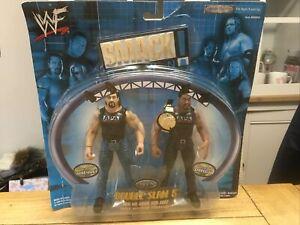 WWF Smack Down Double Slam 5 Bradshaw & Faarooq APA - Action Figures 2000