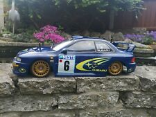 Tamiya TL-01 with Subaru WRX WRC Rally shell