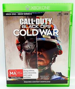 Call of Duty Black Ops Cold War Microsoft Xbox One Game