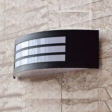 Resistente Al Tiempo Lámpara de pared exterior en Negro Patio las lámparas