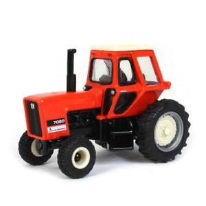 1/64 Allis Chalmers 7060 Cab Tractor, Helle Farm Equipment, by ERTL 16398
