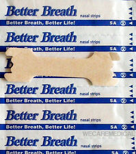 10 Nasal Strips Breathe Better/Reduce Snoring/Sleep Apnea Right Now  (Large)