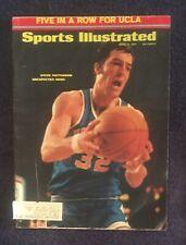 4.5.71 STEVE PATTERSON Sports Illustrated UCLA BRUINS - MUHAMMAD ALI - Old Ads