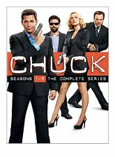 Chuck Complete Collection TV Series Season action DVD BOX Set Show Episode Lot 5