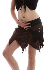 Festival Pixie Skirt, Psy Trance Skirt, Pocket Wrap Festival Skirt, Boho Skirt