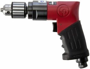 """Chicago Pneumatic 9285 3/8"""" Heavy Duty Air Drill with Jacobs Chuck"""