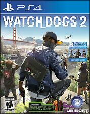 Watch Dogs - PlayStation 4 Brand New Ps4 Games Sony Factory Sealed