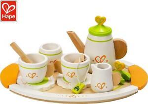 Hape Tea Set For Two Kids Toy Educational Development