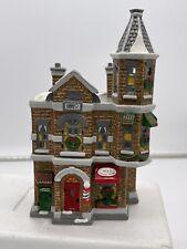 Dept 56 The Original Snow Village Jack's Corner Barber Shop #5406-2