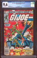 GI Joe # 1 Marvel 1982 CGC-9.6 NM+ 1st Snake Eyes Cobra Commander Hama Trimpe