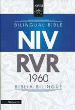Spanish/English Bible  RVR 1960/NIV,  Bilingual, Black Hardcover Parallel