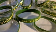 Financial Literacy Awareness Bracelets 10-Pack