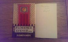 Florence Avenue SIGNED Elizabeth North Hardback 1979 1st Edition 1st Impression*