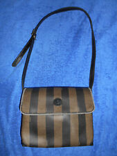 FENDI  VINTAGE ROMA 1925 MEDIUM  MESSENGER SHOULDER BAG FROM ITALY ! NICE.!