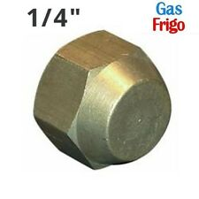 """3S BOCCHETTONE CODULO CIECO TAPPO 3//8/"""" sae PER CONDIZIONATORE GAS REFRIGERANTE"""