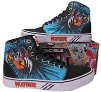 Vans Wolverine Marvel 106 Hi High Top Skate Sneakers Shoes X-Men 00498094