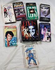 Lot of 12 Elvis Presley Video Tape VHS Movies Videos