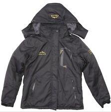 EQUICK Mens Black Mountain Waterproof Ski Jacket Sz M 3722