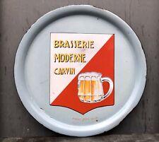 Plateau Émaillé Brasserie Moderne Carvin / Jany Frères / Bière