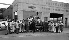 1957 Chevrolet Durham NC Carpenter truck garage 4 x 7 Photograph