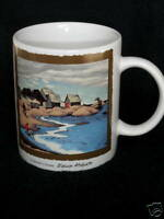 Coffee Mug Edwin Holgate Group of 7 Fishermens Houses McMichael Gallery Promo Ad