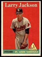 1958 Topps Larry Jackson St. Louis Cardinals #97
