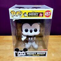 "Funko Pop Disney SDCC 2019 Target Exclusive Mickey Mouse 10"" Vinyl Figure #457"