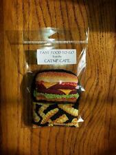 Catnip Toys~FAST Food~ORGANIC CATNIP!!!   Really Cute!