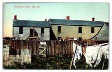 Early 1900s Old Jail, Nantucket, MA Postcard