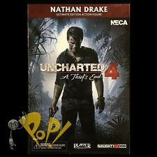 """UNCHARTED 4 Nathan DRAKE 8-Bit VIDEOGAME Action Figure NECA 7"""" New in BOX!"""