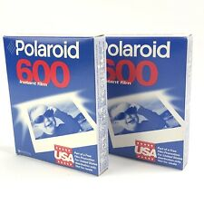 Polaroid 600 Instant Film 2 Packs Of 10 (Sealed) Expired