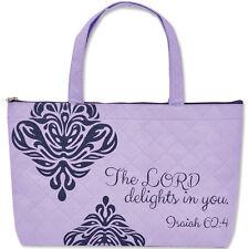 "REFLECTIONS: ""THE WOMAN GOD SEES"" BIBLE TOTE BAG Christian Faith FAST USA SHIP!"
