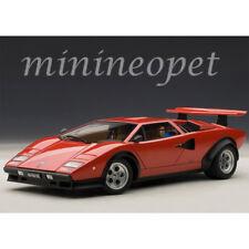 AUTOart 74651 LAMBORGHINI COUNTACH WALTER WOLF EDITION 1/18 MODEL CAR RED