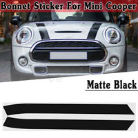 FOR MINI ONE MINI COOPER BONNET STRIPES VINYL/GRAPHICS/ DECALS/STICKERS !! !!