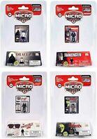 SET/4 Worlds Smallest Mego HORROR Micro Dracula Frankenstein Universal Monster