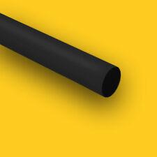 "HDPE (High Density Polyethylene) Plastic Rod 3 1/4"" Dia x 12"" Length Bar Black"