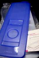 New Tupperware Fresh And Pure Ice Cube Tray- with Bold N  Blue Opening Seal !