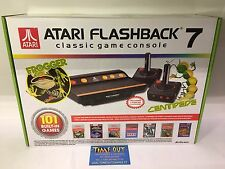 ATARI FLASHBACK 7 FROGGER CENTIPEDE CLASSIC GAME CONSOLE 101 GAMES BUILT-IN NEW